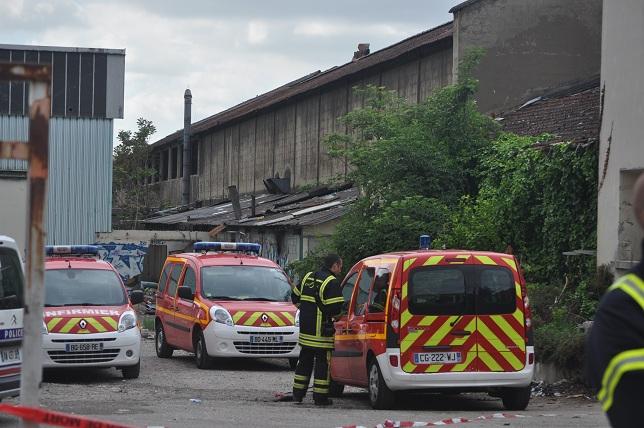 Les lieux du drame - Photo LyonMag.com