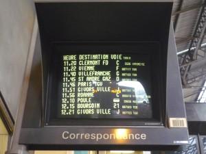 Gare SNCF Lyon Part Dieu - Photo Lyonmag.com