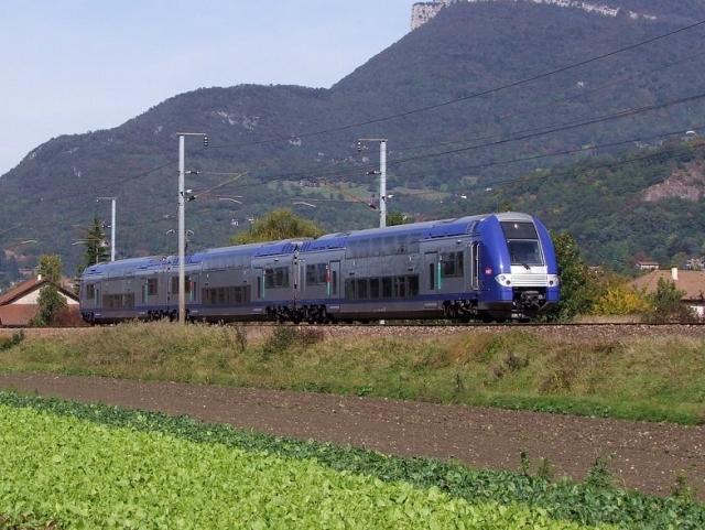 La ligne SNCF entre Lyon et Grenoble rénovée en 2013