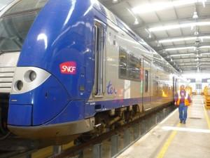 Action coup de poing des usagers de la SNCF d'Ambérieu-en-Bugey