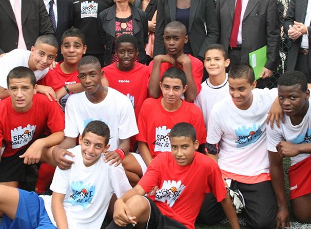 Sport dans la Ville s'implante un peu plus à Rillieux-la-Pape