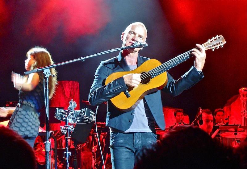 Sting sera bien présent aux Nuits de Fourvière à Lyon