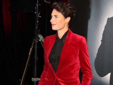Alessandra Sublet récompensée lors des Gérard de la Télévision