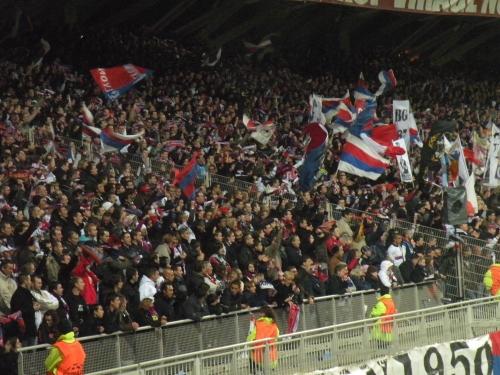 Les supporters de l'OL interdits de déplacement à St Etienne pour le derby