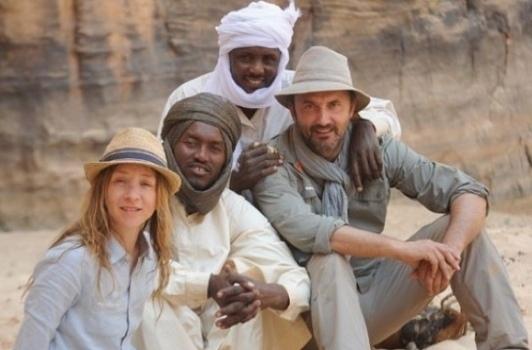 La lyonnaise Sylvie Testud en terre inconnue au Tchad