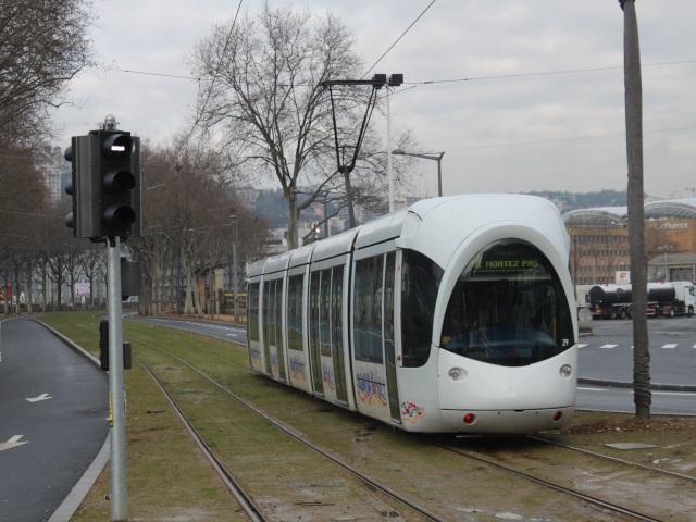 Lyon : le prolongement du tramway T1 en service mercredi