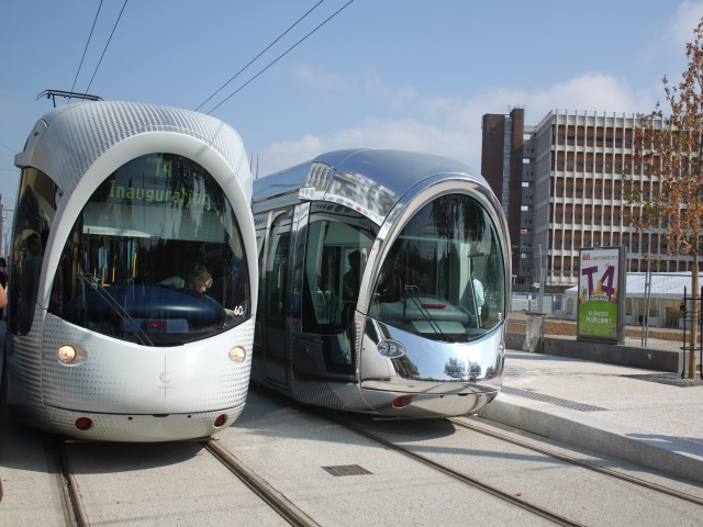 Lyon : la circulation du T4 réduite durant une semaine