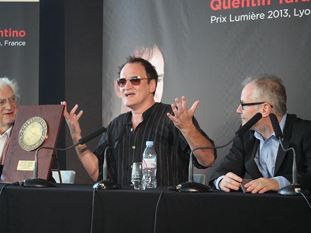"""Quentin Tarantino : """"Lyon a mis un visage sur la reconnaissance du public pour mon travail"""""""