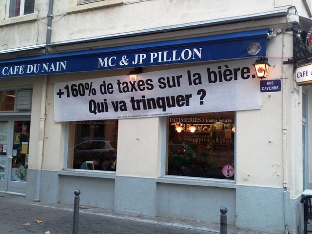 """Hausse des taxes sur la bière : les bars lyonnais ont peur de """"trinquer"""""""