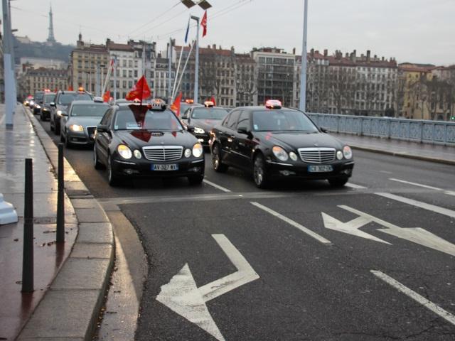 Les taxis manifesteront à nouveau le 10 février