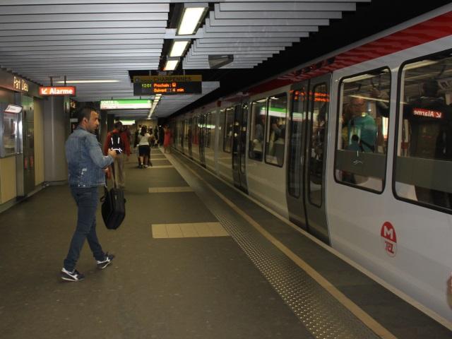Le métro D à l'arrêt en raison d'un problème informatique (MàJ)