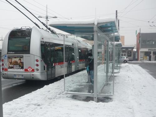 Lyon : les TCL perturbés jeudi matin à cause de la neige (Màj)