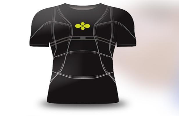 Un tee-shirt ayant le rôle de coach sportif créé par une entreprise lyonnaise