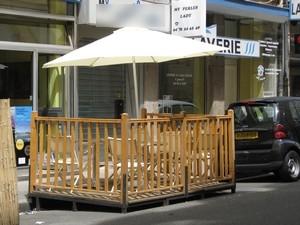 Terrasses à Lyon : un millier de places de stationnement en moins