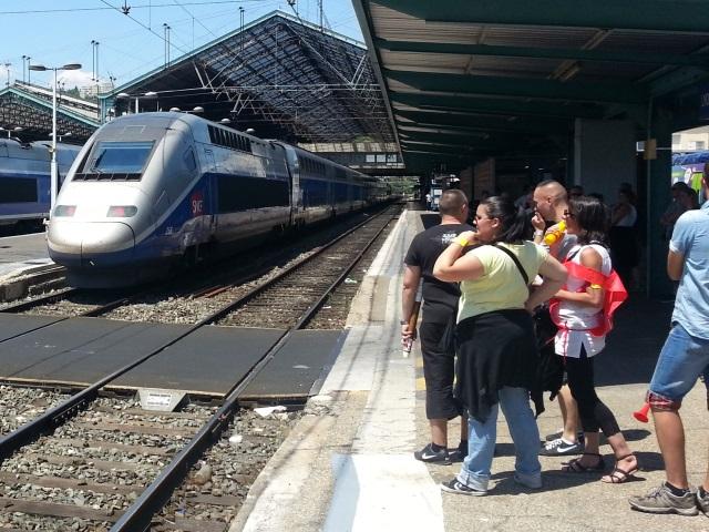 Sécurisation de la ligne TGV Lyon-Paris : déjà 17 interpellations et 26 PV