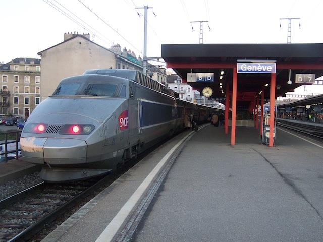 Lyon et Genève en moins d'une heure par les rails ?