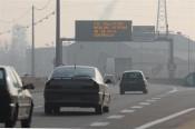 Episode de pollution sur l'A7 à Lyon - Photo DR