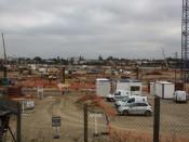 Le chantier du Grand Stade - LyonMag