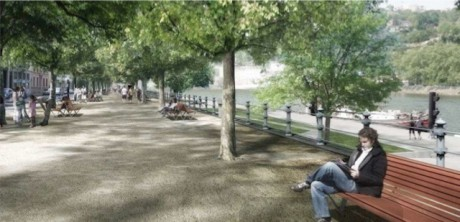Le futur quai haut - Photo dr