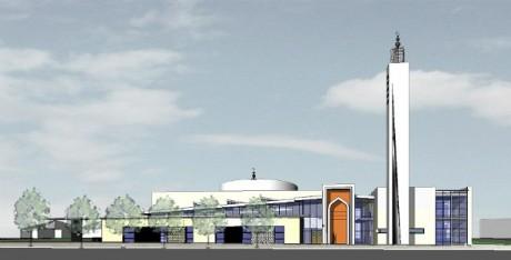 Projet pour la future mosquée de Vaulx-en-Velin - DR