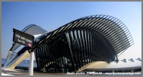 L'aéroport de Lyon Saint-Exupéry (DR)