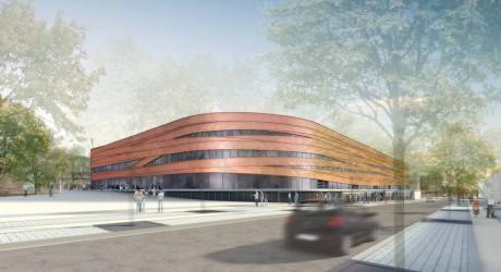 La future Halle d'Athlétisme de la Duchère - DR