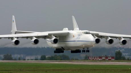 L'Antonov 225 est capable d'emporter une navette spatiale - DR