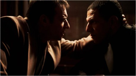 Roschdy Zem et Samuel le Bihan dans Une Nuit - Photo DR