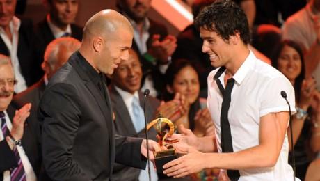 Zinedine Zidane et Yoann Gourcuff - DR