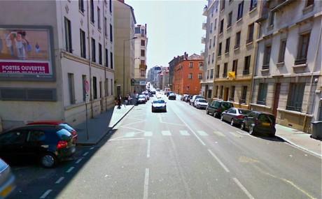 L'avenue Auguste Blanqui à Villeurbanne - Google View - DR
