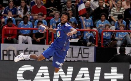 Arnaud Bingo sous le maillot bleu - Photo DR