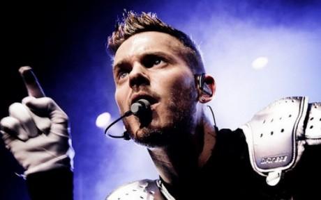 Le chanteur Matt Pokora sera en concert à lyon avec la troupe des Enfoirés - DR