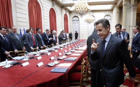 A peine sorti du Sommet Social, Nicolas Sarkozy doit venir expliquer ses mesures à Lyon - Photo DR L'express