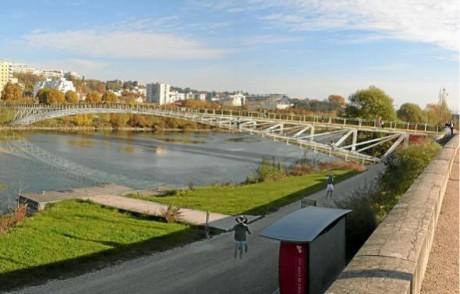 Passerelle Saint-Clair – Lyon Dietmar Feichtinger Architectes