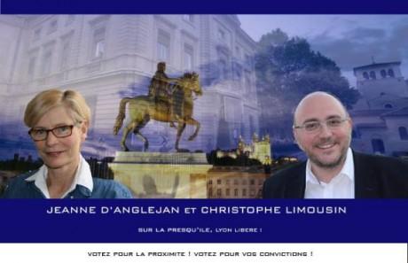 Christophe Limousin, Jeanne d'Anglejan et Patrick Louis envisageait de monter leur liste - DR