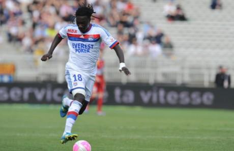 Les Lyonnais ont enfin retrouvé la victoire, notamment grâce à un but de Gomis - DR