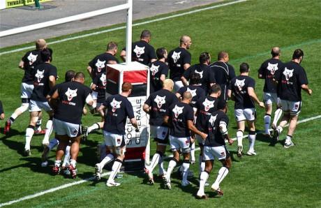 Les joueurs du LOU Rugby - LyonMag