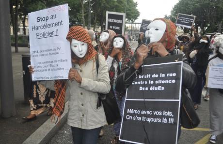 Les prostituées de Gerland manifestaient ce mercredi - LyonMag.com