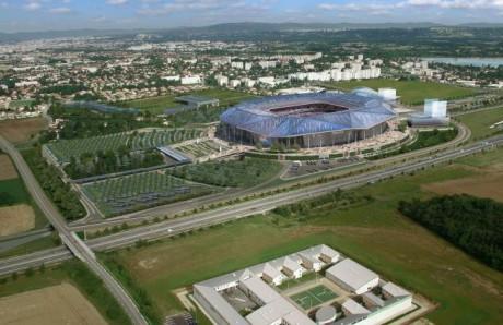 Vue d'ensemble du projet du Grand Stade - DR