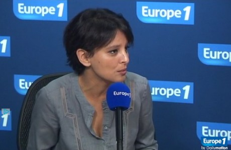 Najat Vallaud-Blekacem - Europe 1/Dailymotion