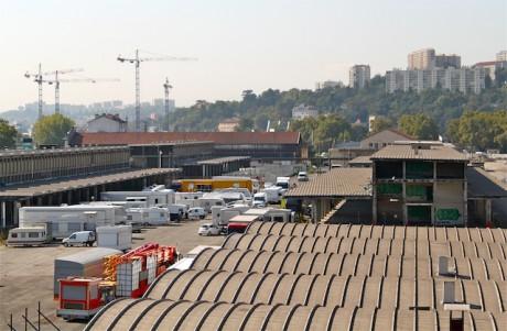 A sud-est de l'actuel marché gare, la Maison de la Danse devrait s'ériger à l'horizon 2017-18 - LyonMag