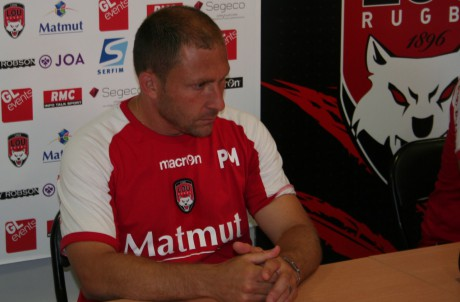 Pierre Mignoni du LOU Rugby - LyonMag