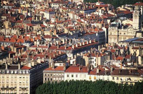 Lyon vue d'en haut - Photo DR