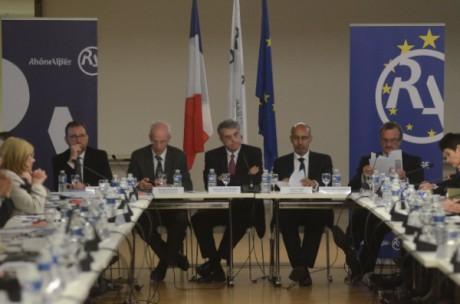 Harlem Désir, Jean-Jack Queyranne et le préfet du Rhône - LyonMag