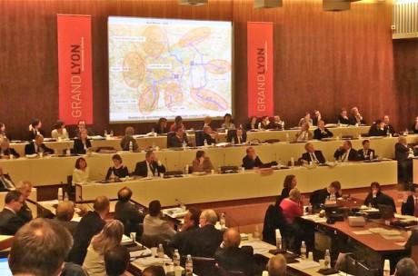 Le conseil communautaire - Photo LyonMag.com