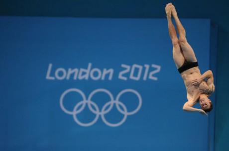 Matthieu Rosset a été éliminé en demi-finale du plongeon à 3 mètres - Photo AFP/DR