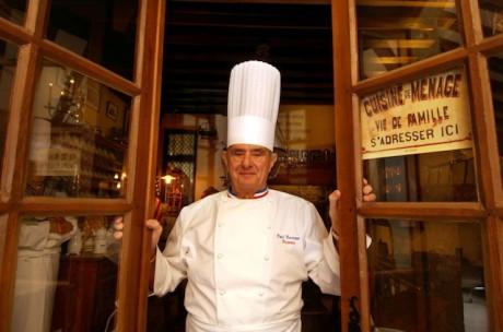 Paul Bocuse a de nombreux projets à Lyon pour les années à venir - Photo DR