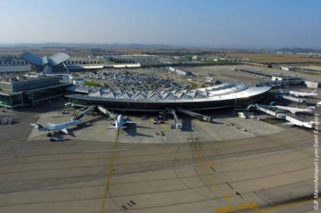 L'aéroport de Lyon Saint-Exupéry - DR