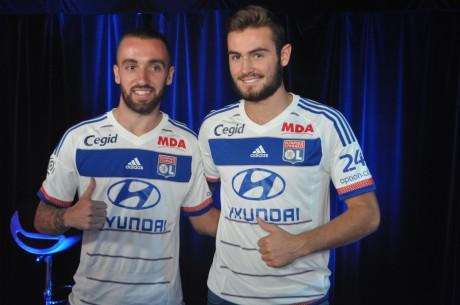 Sergi Darder et Lucas Tousart ont chacun signé cinq ans à l'OL - LyonMag