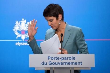 Najat Vallaud-Belkacem - DR AFP